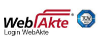 WebAkte - Ihre digitale Akte rund um das Medizinrecht
