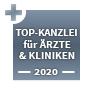 Top Kanzlei - Gesundheit und Pharmazie ausgezeichnet vomFocus